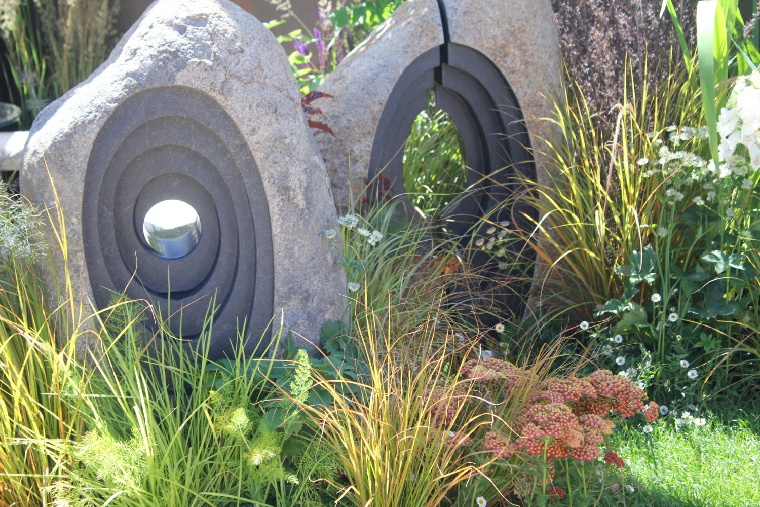 It is important to have focal points in the garden