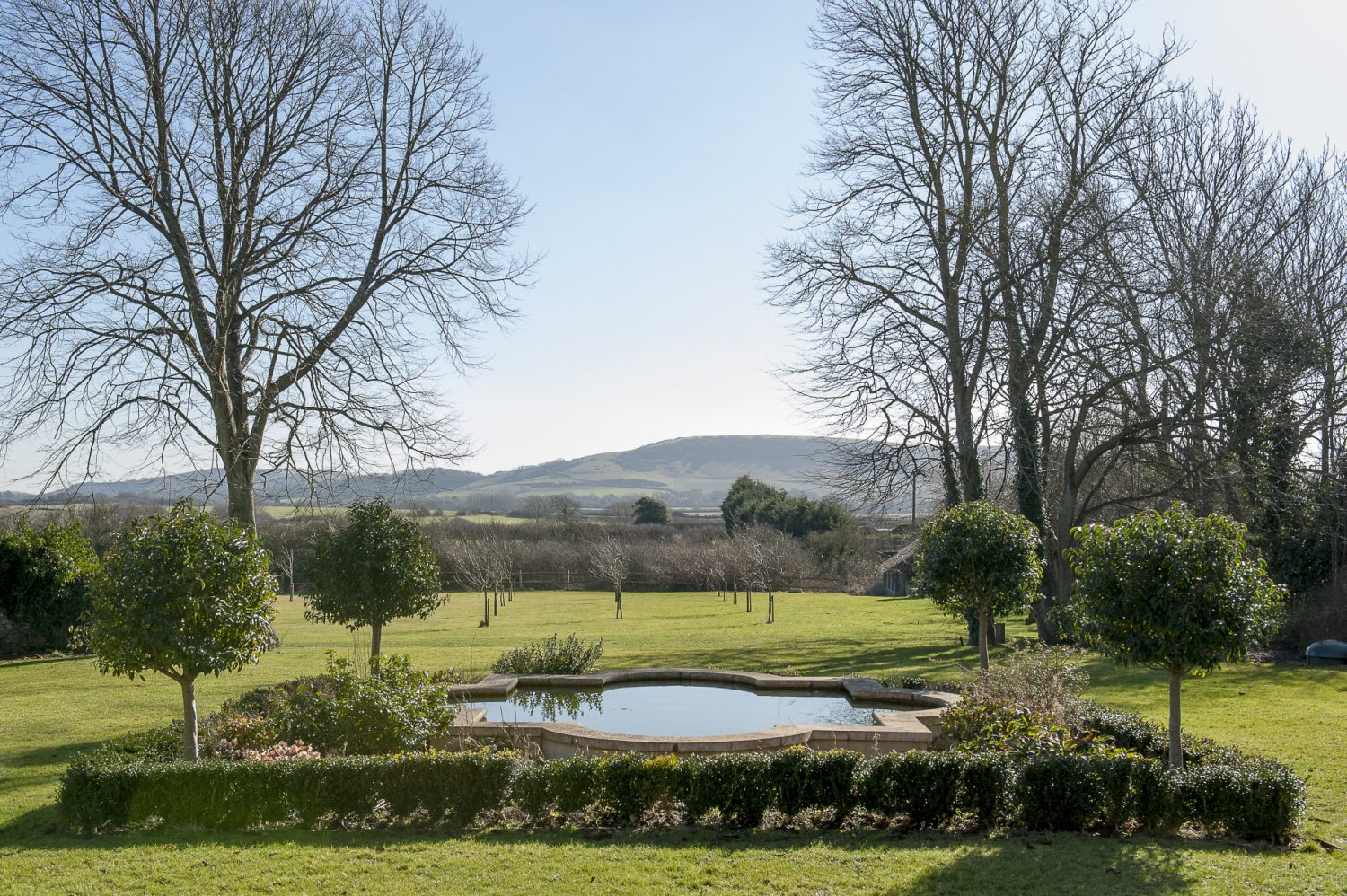 When Nina and Nick first took over the property, the garden was just a rural wasteland – a sea of mud, bramble and hawthorn. Over the years, like the house itself, the couple have painstakingly returned it to its former glory