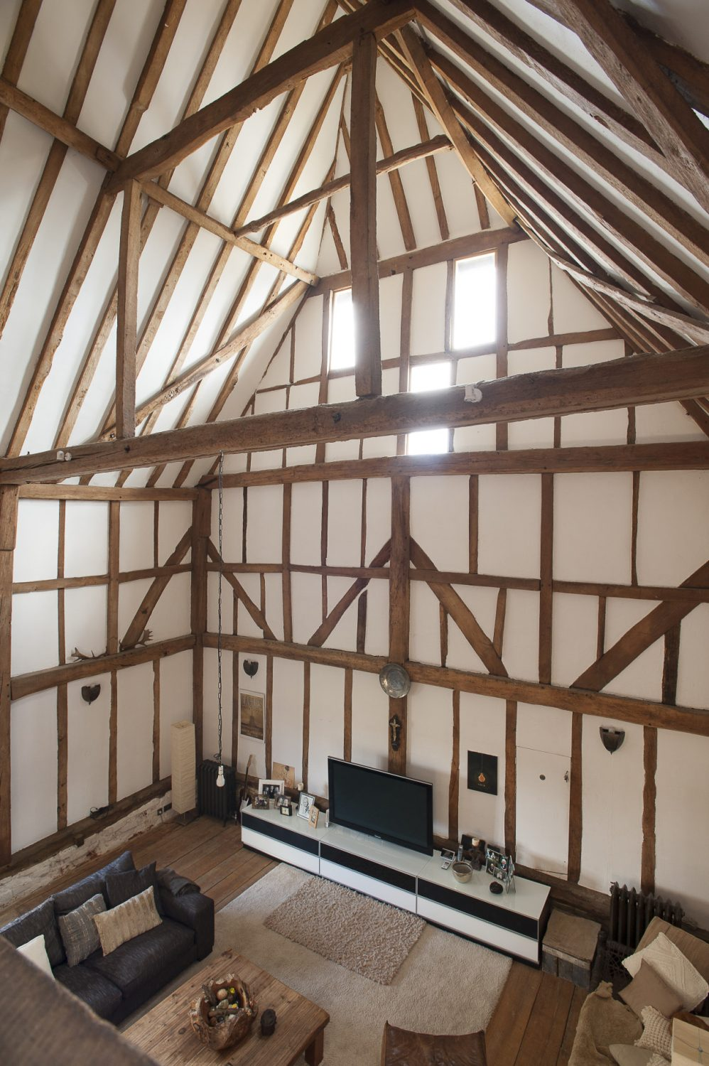 When Lorraine took over the property a huge amount of great work had already been done by its previous owner. Her challenge was to take over the taming of this wonderful monster of a building and make from it a stylish but warm and welcoming family home