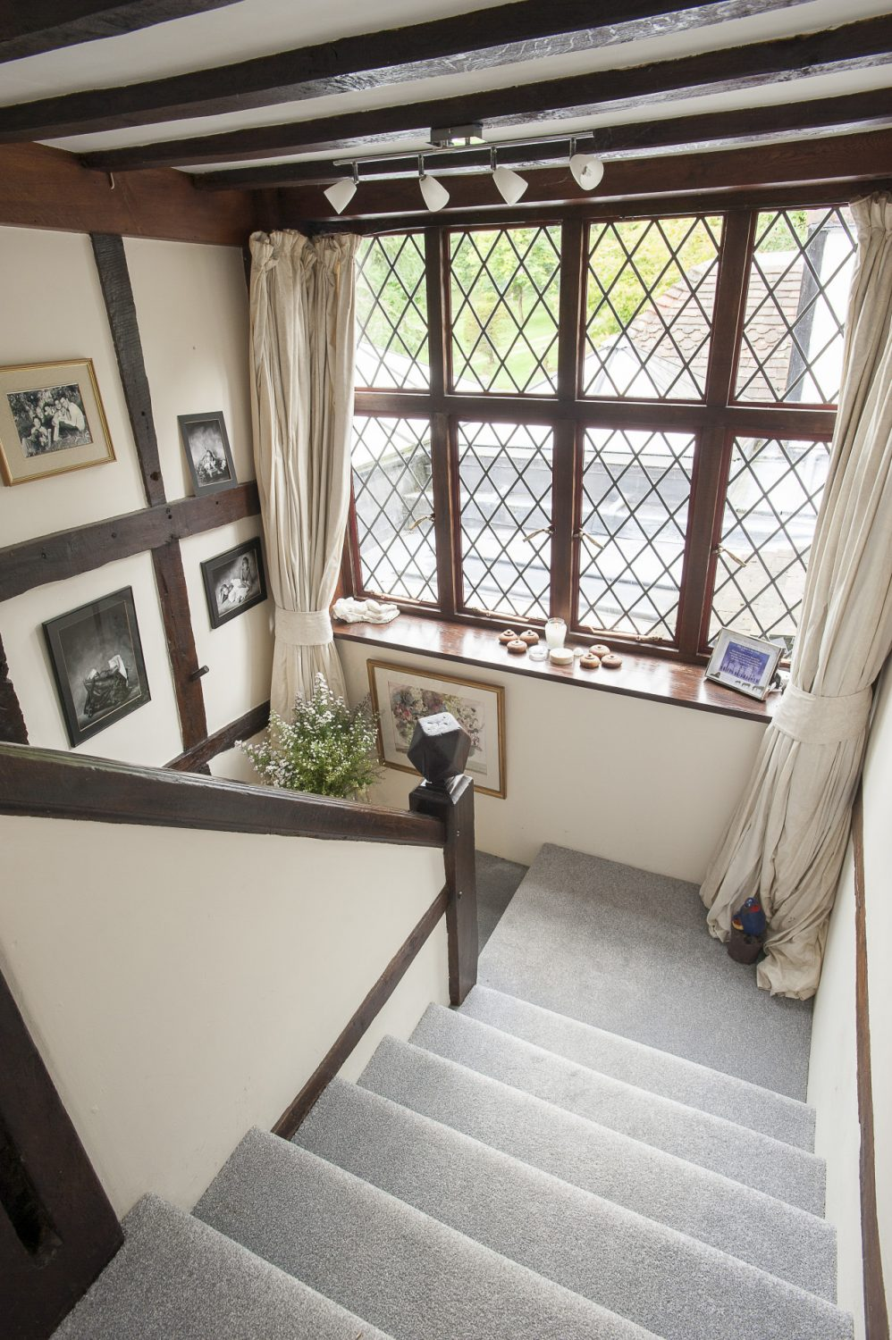 From the sitting room, stairs lead up to Pennybridge's two further floors