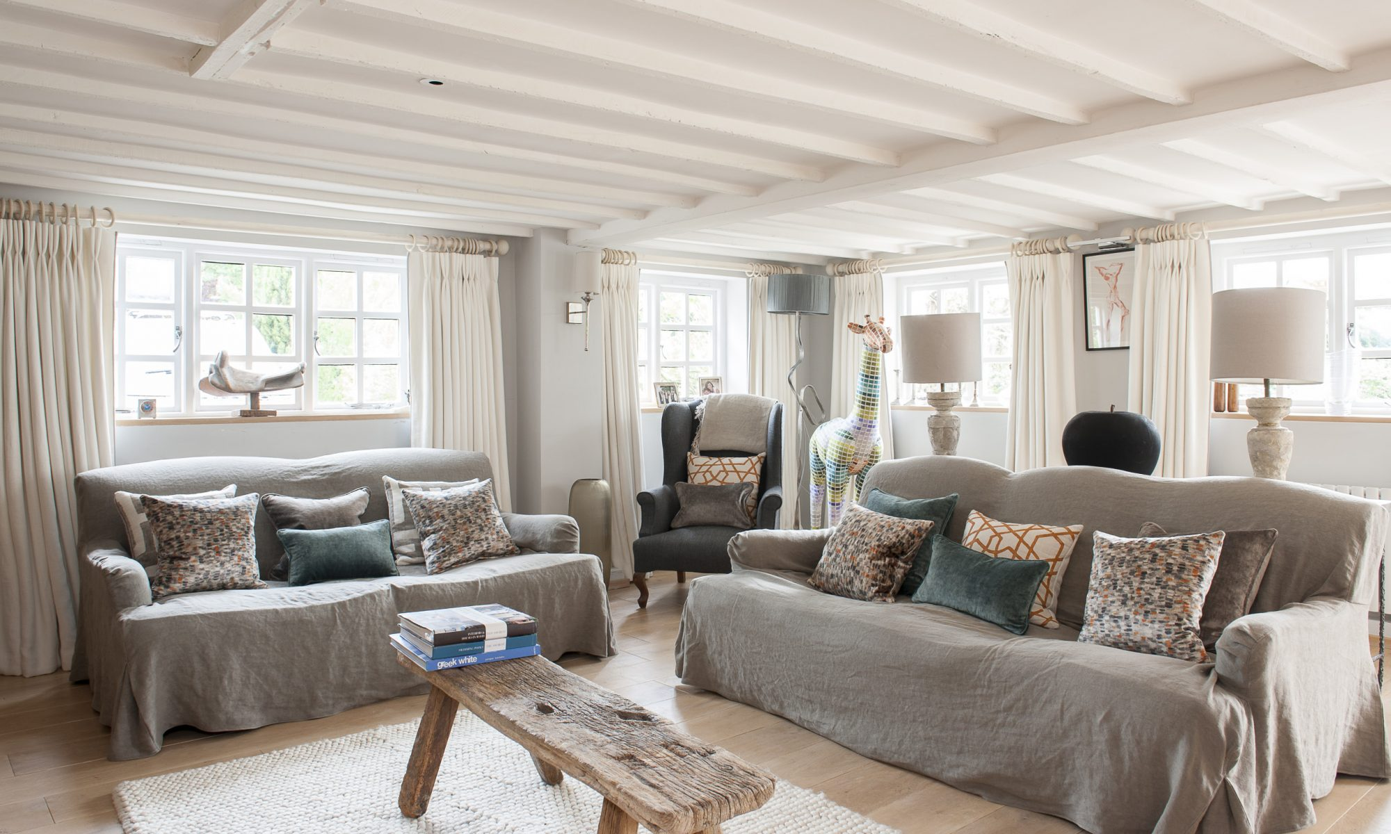Country Cottage With Alpine Inspired Interior