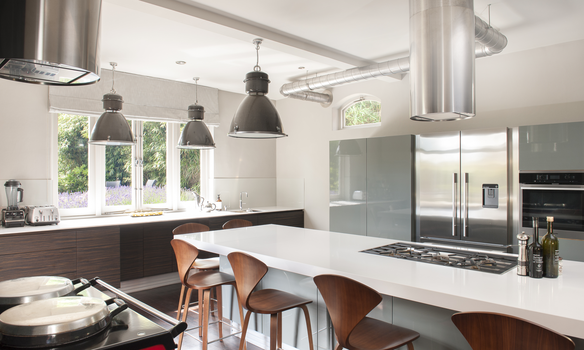 Mix together an interior decorator and a bespoke kitchen designer and you have the perfect recipe for creating a 21st century home from a Victorian coach house...