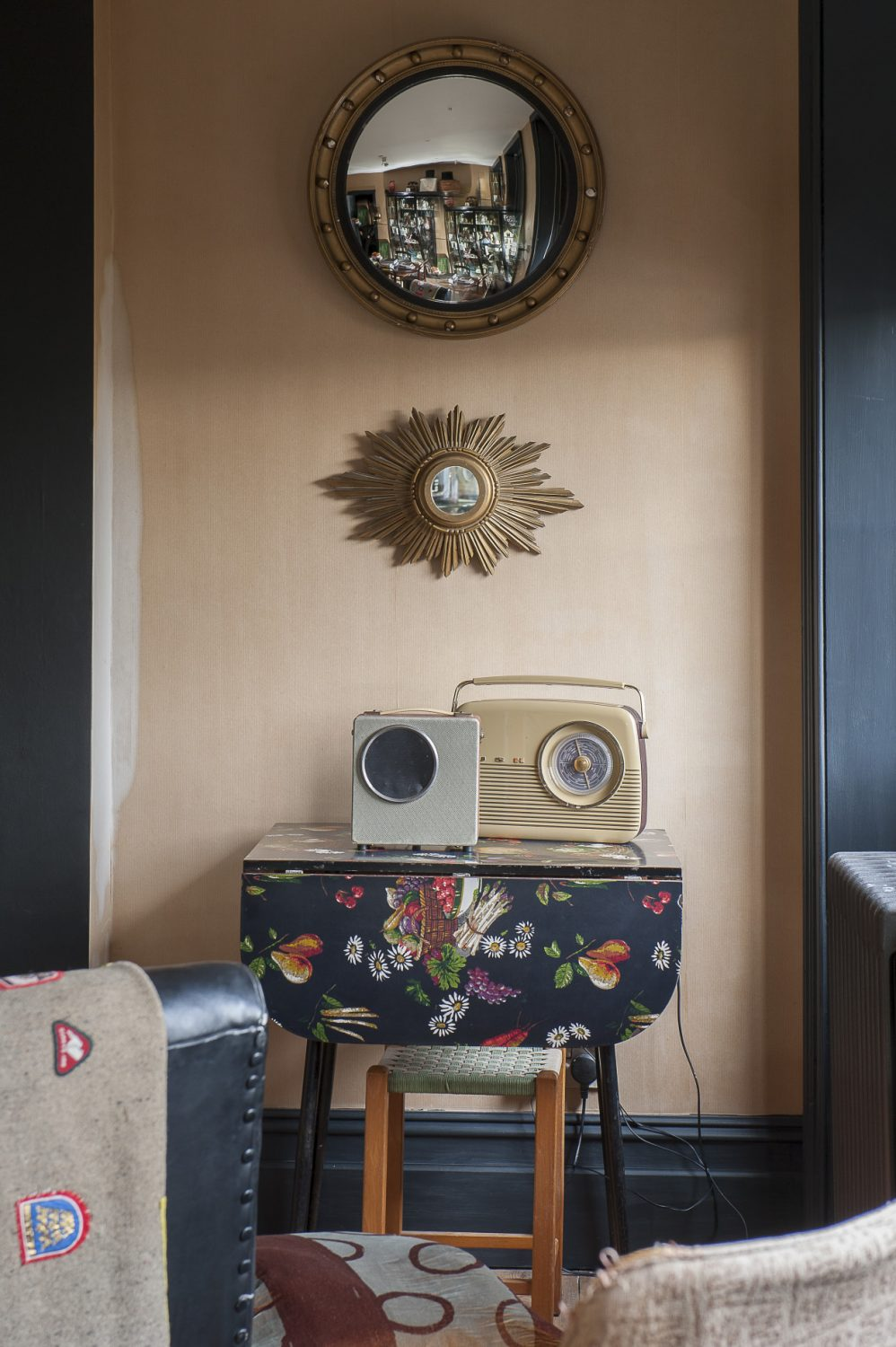 """For vintage finds and quirky items, Jilly is a fan of the Sunbury Antiques Market as well as Dolly Miller in nearby Margate. """"I just buy what I like,"""" says Jilly. """"There is no grand plan."""""""
