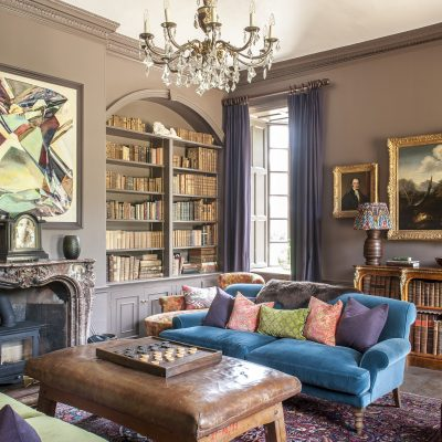 The beautiful Georgian house, Goodnestone Park, which may have inspired Jane Austen's most famous novel and is still owned by the original family, has been remodelled with superb contemporary chic and reborn with a new purpose