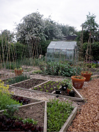 I have found that dividing your plot up into 'meal sized' sections can help with planning out how much of some things you will need
