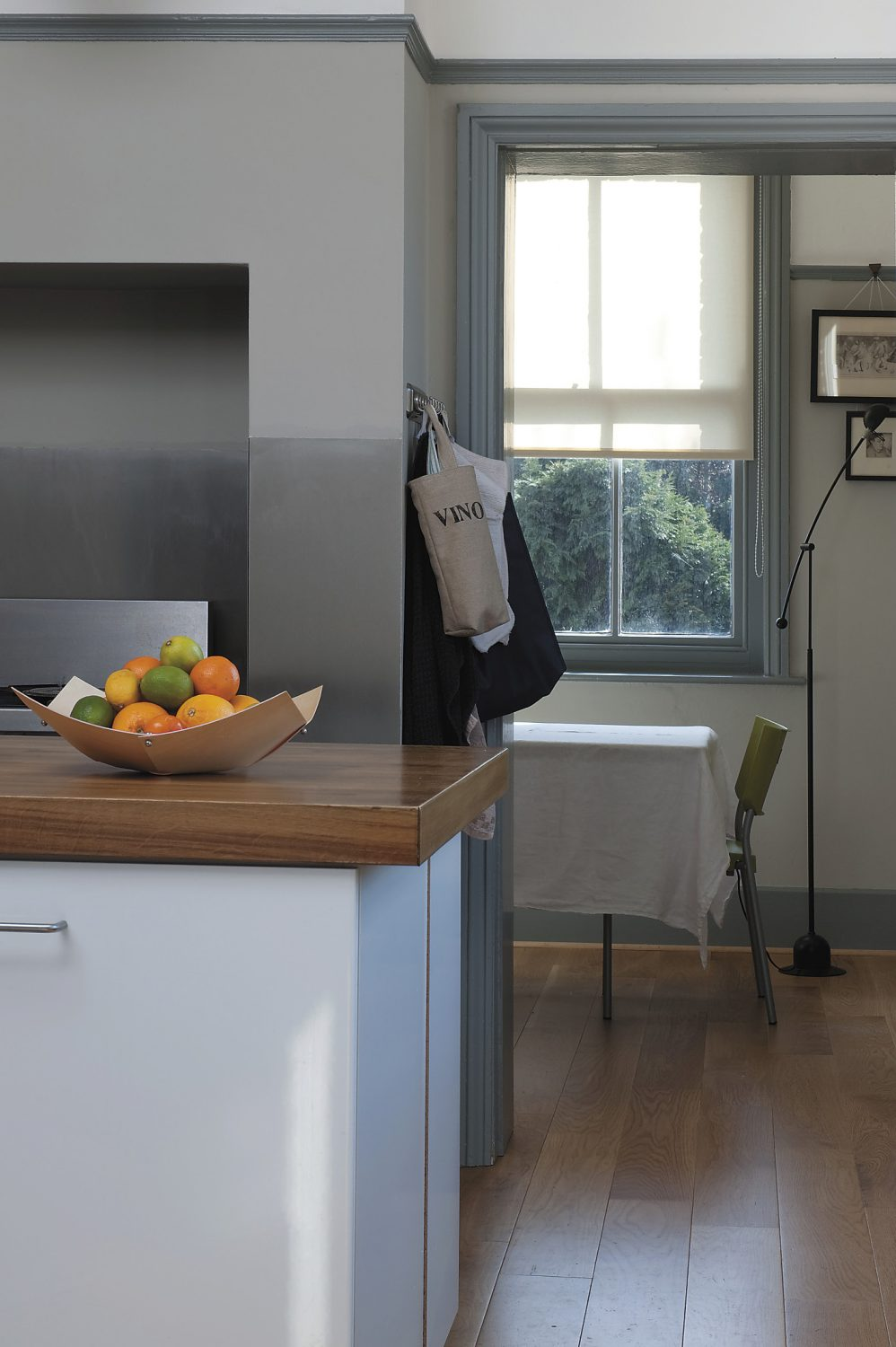 the kitchen units are made up of professional catering equipment