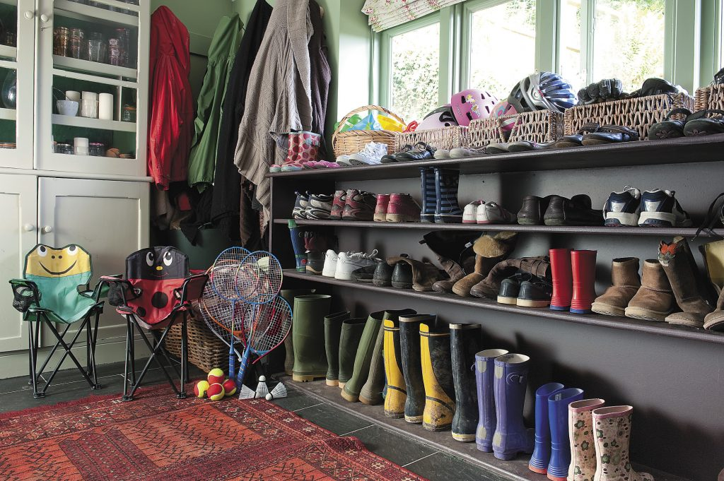 the spic-and-span boot room