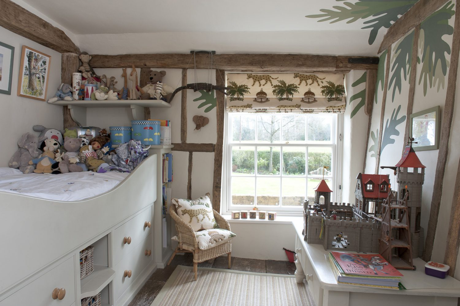 Ralph's room is home to a cabin bed made for him by the team at Bespoke.