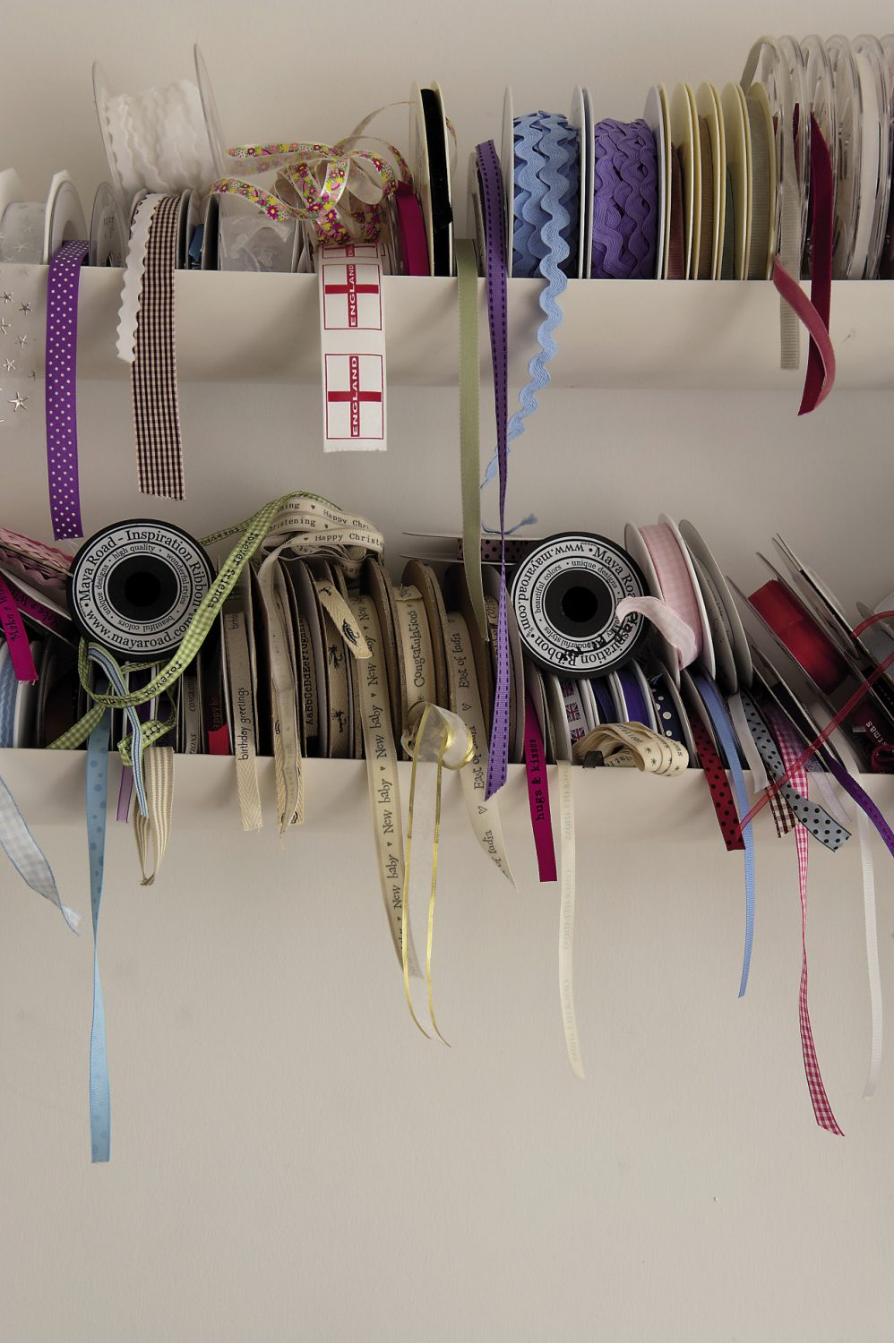 There's no shortage of pretty ribbons