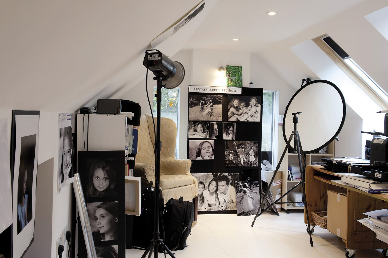 Emma's photographic studio