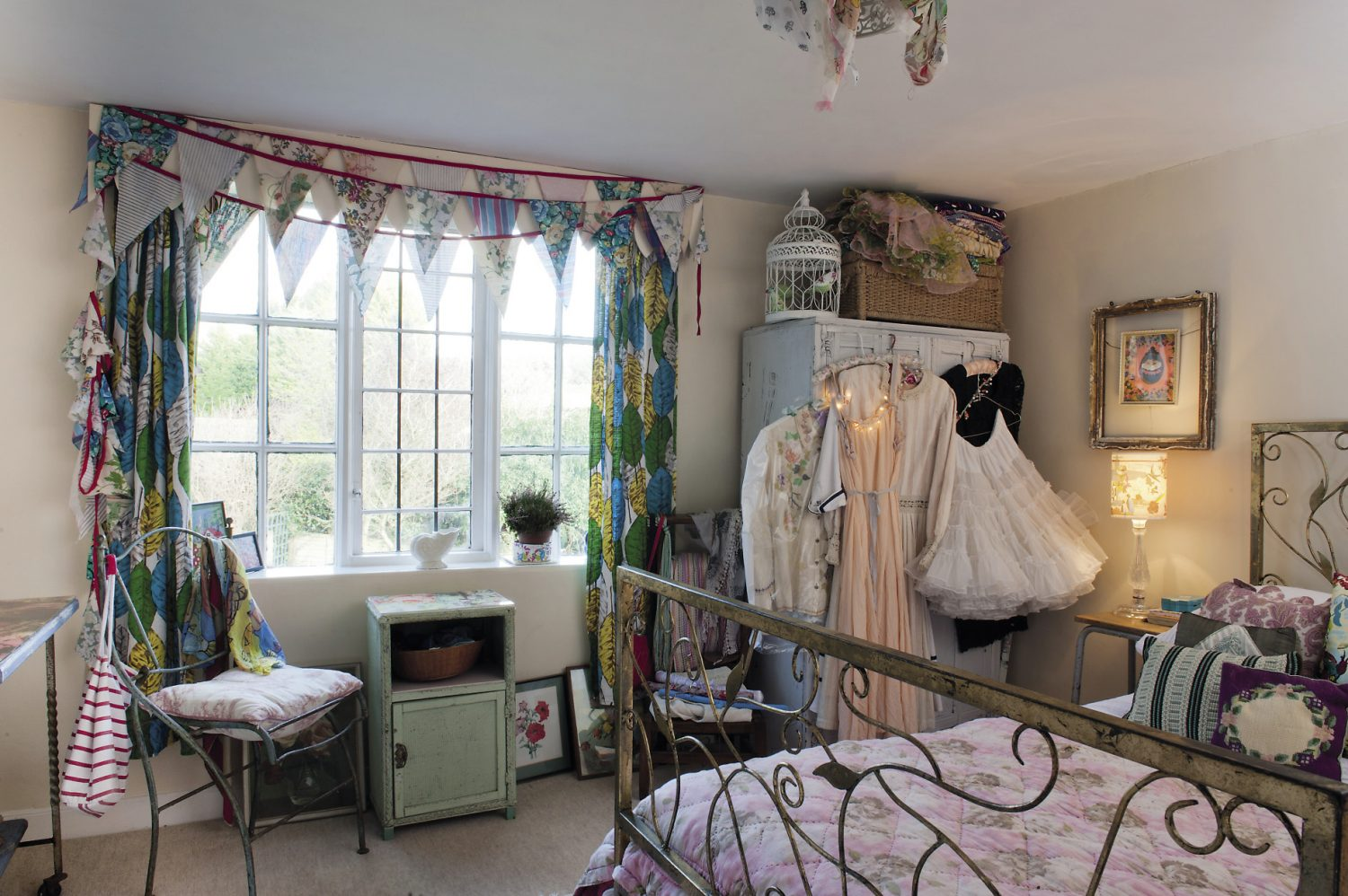 """"""" I buy a lot of things from Hayley at 'Little Treasures' in Hastings Old Town,"""" says Laura, """"she finds some amazing things and I love to go there and try all sorts of things on."""""""