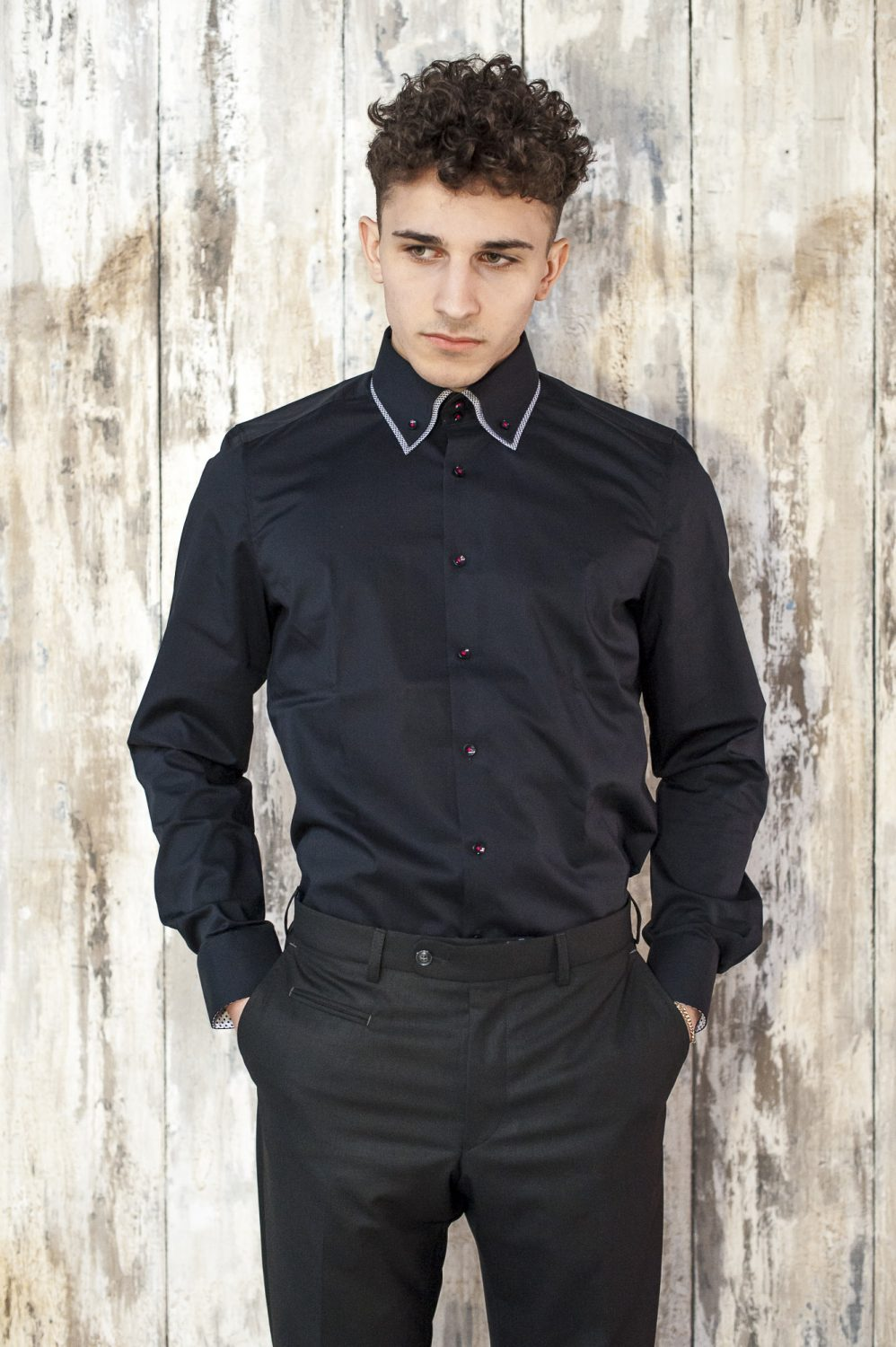 Digel black trousers, £95, Olymp black shirt, £69.50, County Clothes, Canterbury 01227 765294 / Tenterden 01580 765159 / Reigate 01737 249224 countyclothesmenswear.co.uk