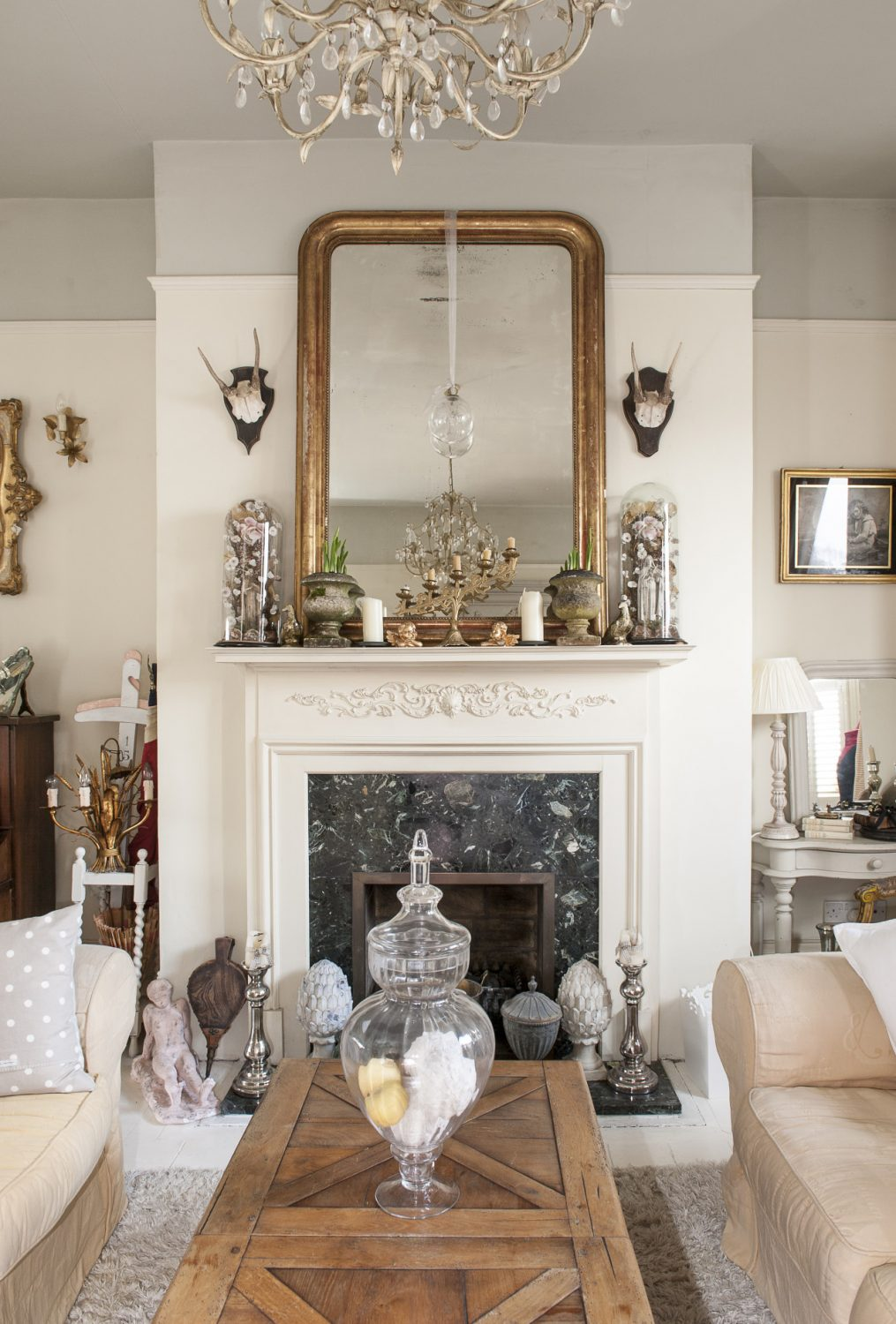 """""""I love antiques not just for their beauty but their history,"""" says Minnie. """"I love the stories each tell and I love thinking about where they've been and what they've seen."""""""