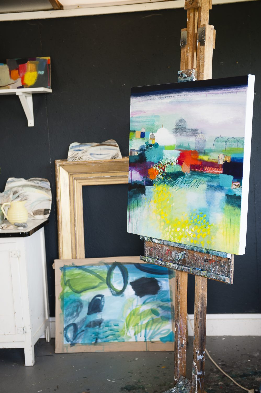 Memory and a response to the experiences of a place is a key part of Karen's paintings