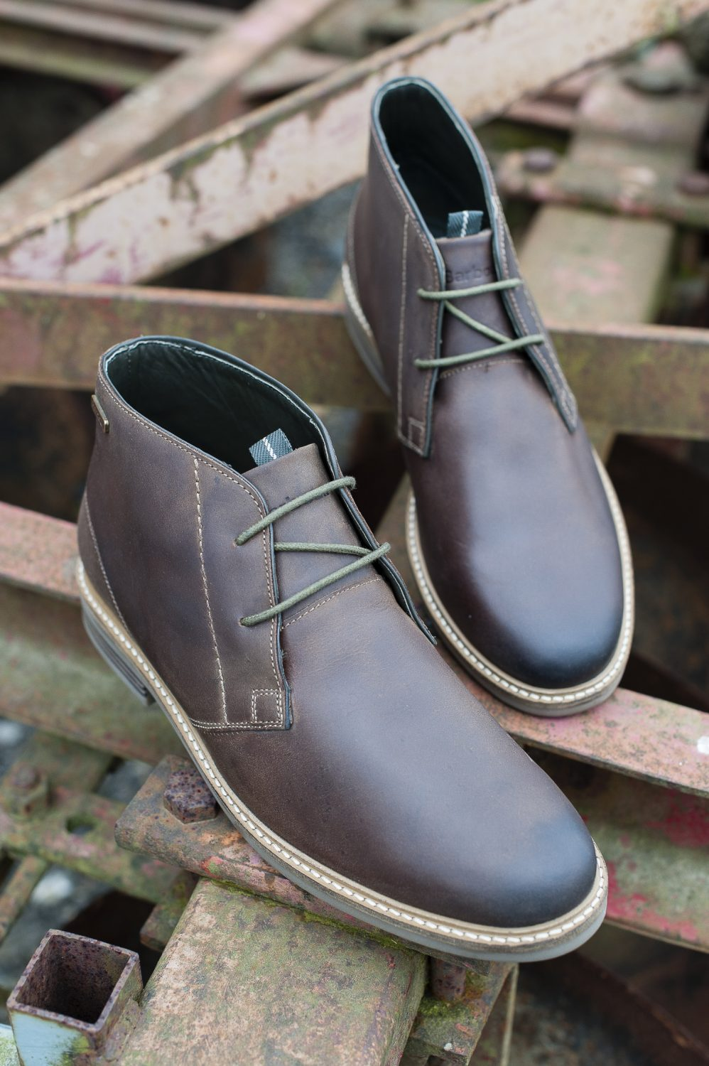 Barbour lace-ups, £125, The Golden Boot, Maidstone thegoldenboot.co.uk