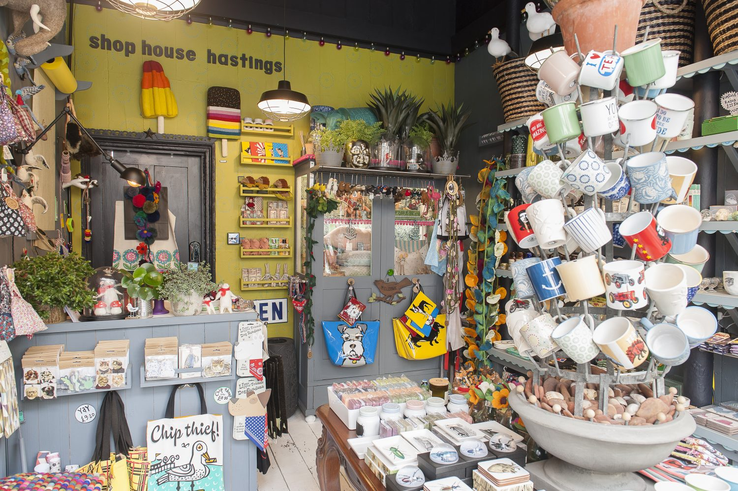 """Shop House had to have a homely feel – """"as if you are going through someone's house,"""" David explains"""