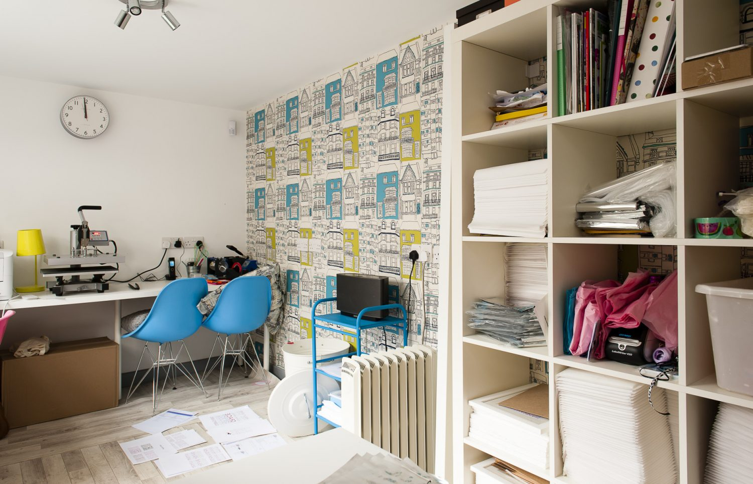 Pickle Pie Gifts HQ is set within a neatly converted garage