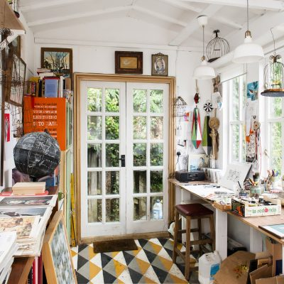 When Anna Deacon and John Taylor decided to downsize, Hastings's art scene lured them to the coast where they have transformed a hillside property using their enviably creative approach to interiors...