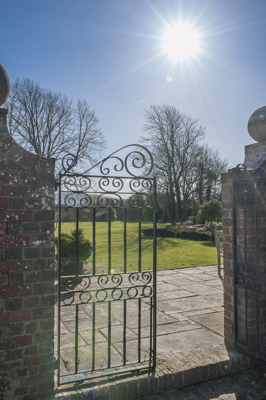 Gateway to the beautiful gardens