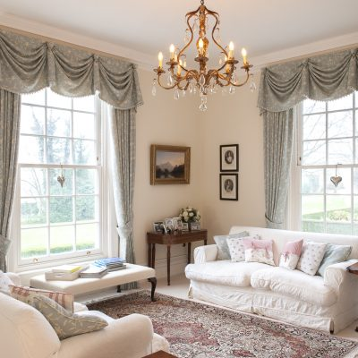 Grand, imposing and seemingly a Georgian rectory, this family home in the heart of the High Weald is not what it seems. For, behind the rambling roses and historic facade lies a thoroughly modern house – built only 10 years ago by a family inspired by the popular series, Grand Designs...