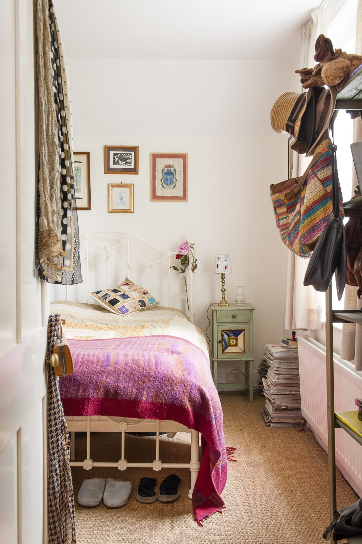 Daughter Ellie's room awaits her visits