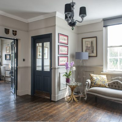 In the 18th century, Ingram House was a coaching inn and a favourite haunt of the infamous Hawkhurst Gang. Fortunately for its owners, Anthony and Simon, shoot-outs are a thing of the past. It is now a tranquil rural retreat, beautifully refurbished and brought back to life – yet still full of treasure...