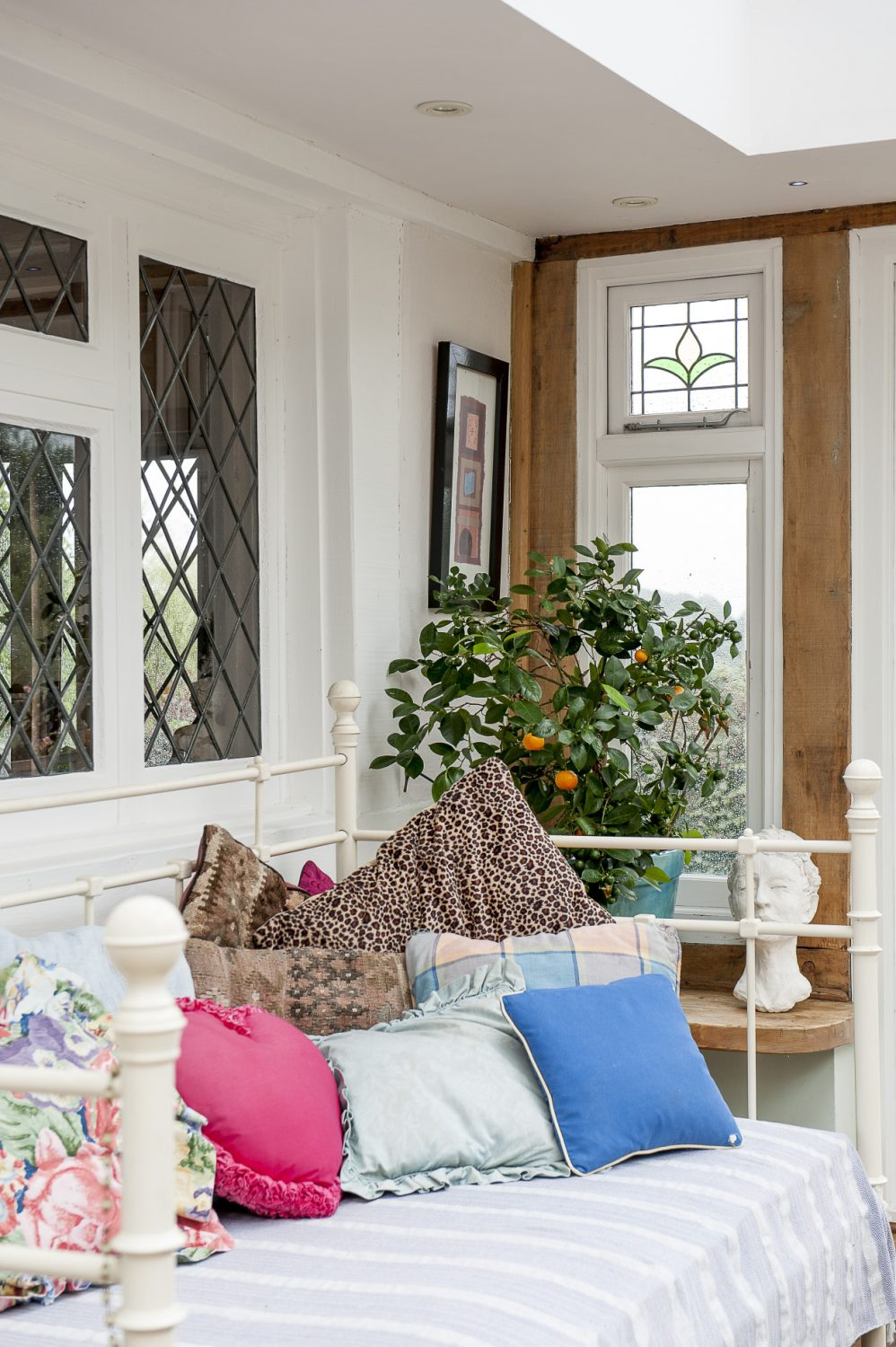A relaxing space in the Garden Room