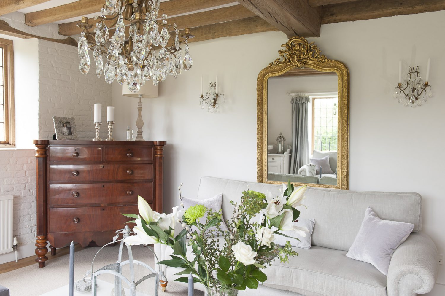 Tara and Mark used to run a business importing Swedish chandeliers