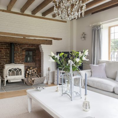 In an area famed for its atmospheric, timber houses, Mark and Tara were hard-pushed to find one that provided the light-filled home they were after. After a year of searching and a year of negotiating, they finally moved into this magnificent farmhouse in Grafty Green where a liberal application of white paint has helped make the most of the natural light...
