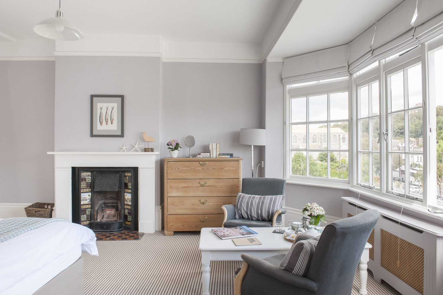 """We set out to find a balance between the property being warm and welcoming but, at the same time, bright and uncluttered,"" says Sara. And that is exactly the result they have achieved."