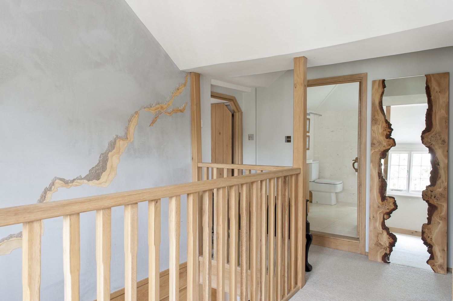The cottage is deceptively spacious, thanks to the sense of 'flow' around the stairway and light-filled landing, on to which all rooms seem to face