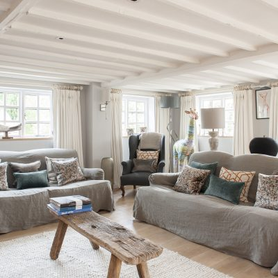 There can be few weatherboarded cottages in the Weald of Kent that offer visitors such a welcome and refreshing surprise. Forget low ceilings and dark corners, or chintzy, rustic styling, and prepare yourselves for a trip to the Alps...
