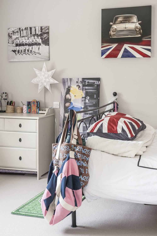 Daughter Izzy's room