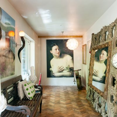 Never mind the house, look at the view… With vision and flair, the most unappealing chalet bungalow can be transformed into an expansive dream home of Hollywood glamour