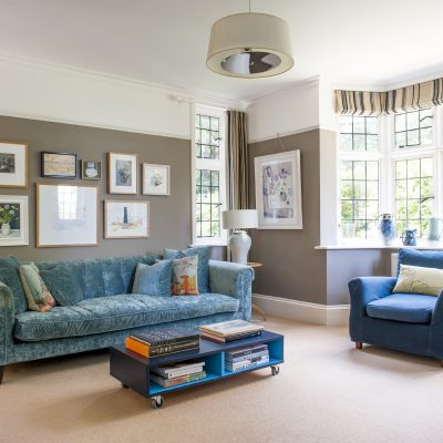 When Geoff and Annie Waring decided to leave the city in search of a greener way of living, they found that the challenge of renovating an Arts & Crafts house in Tunbridge Wells ticked all the boxes