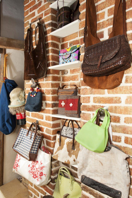 Ally's handbag wall