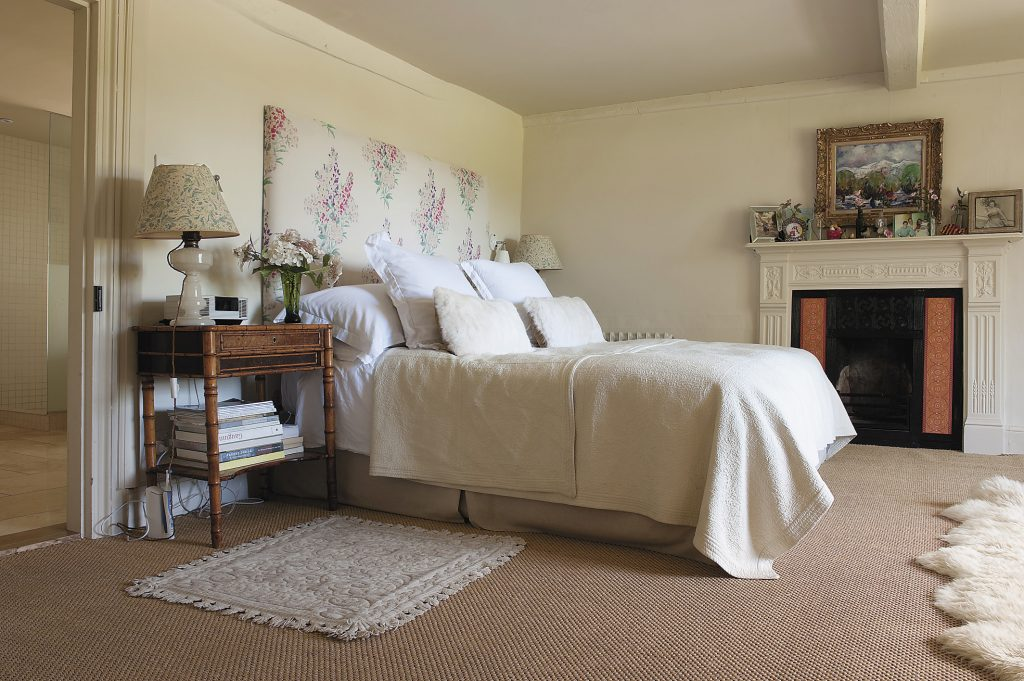 the fabric for the bedhead and curtains in the master bedroom are from Odd (www.oddlimited.com)