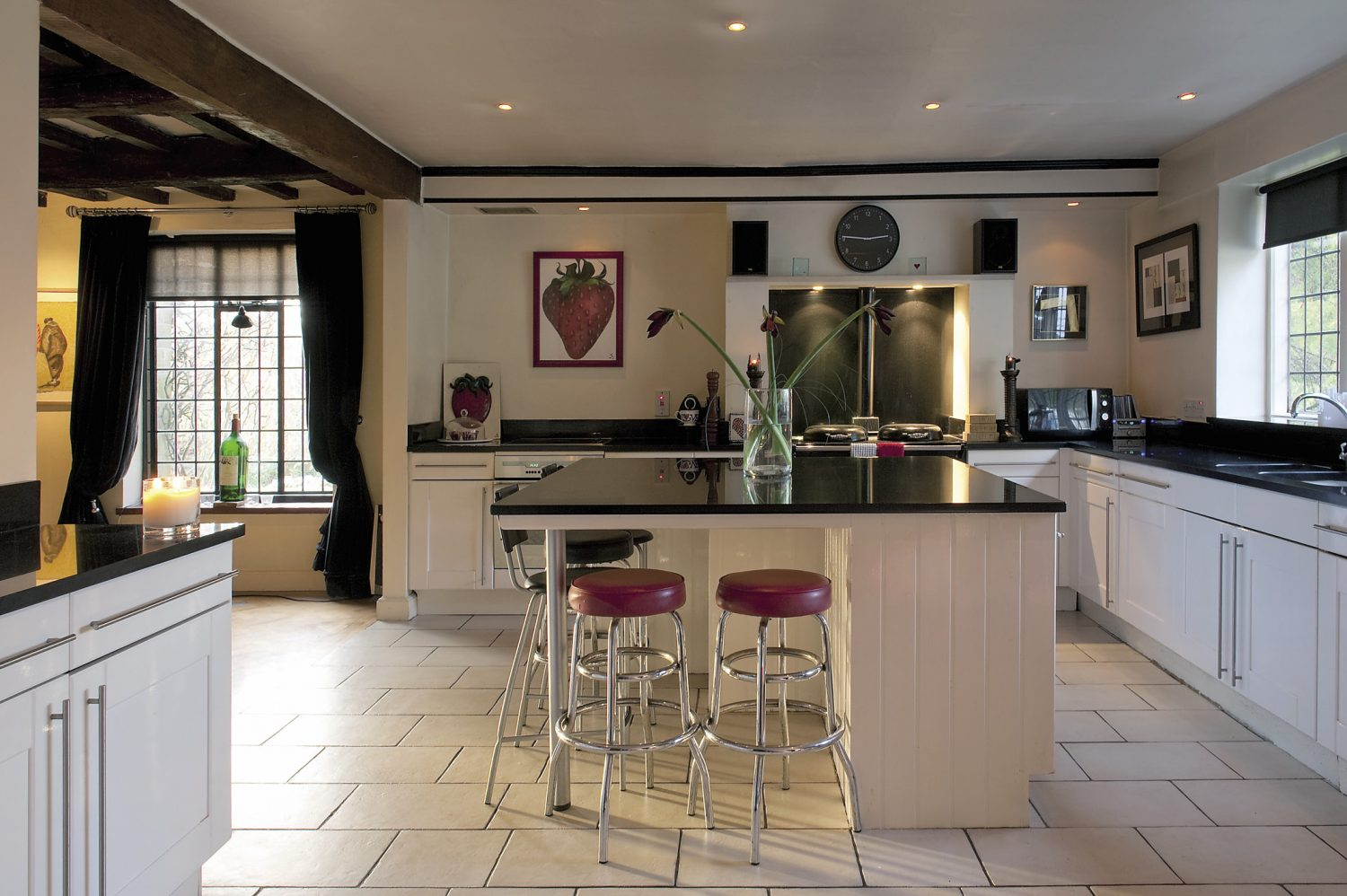 Gaynor knocked the kitchen and dining room together to create one enormous space