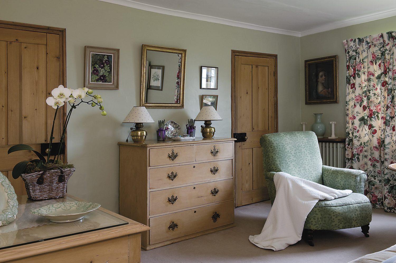 first-floor guest bedroom