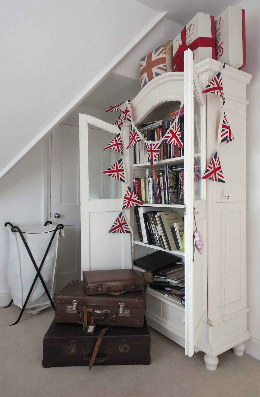 The attic bedroom is perfect for children's sleepovers