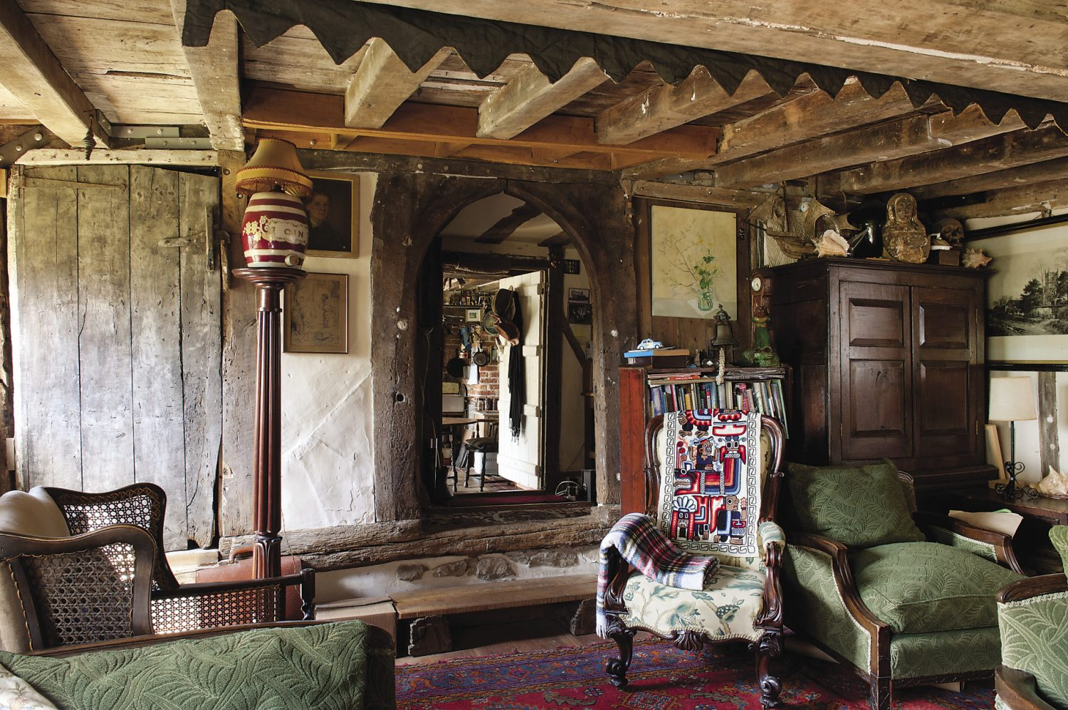 Throughout the house, every nook and cranny is home to some fascinating and much loved item, many of which have tumbled down through the generations to be caught gently by their present owner
