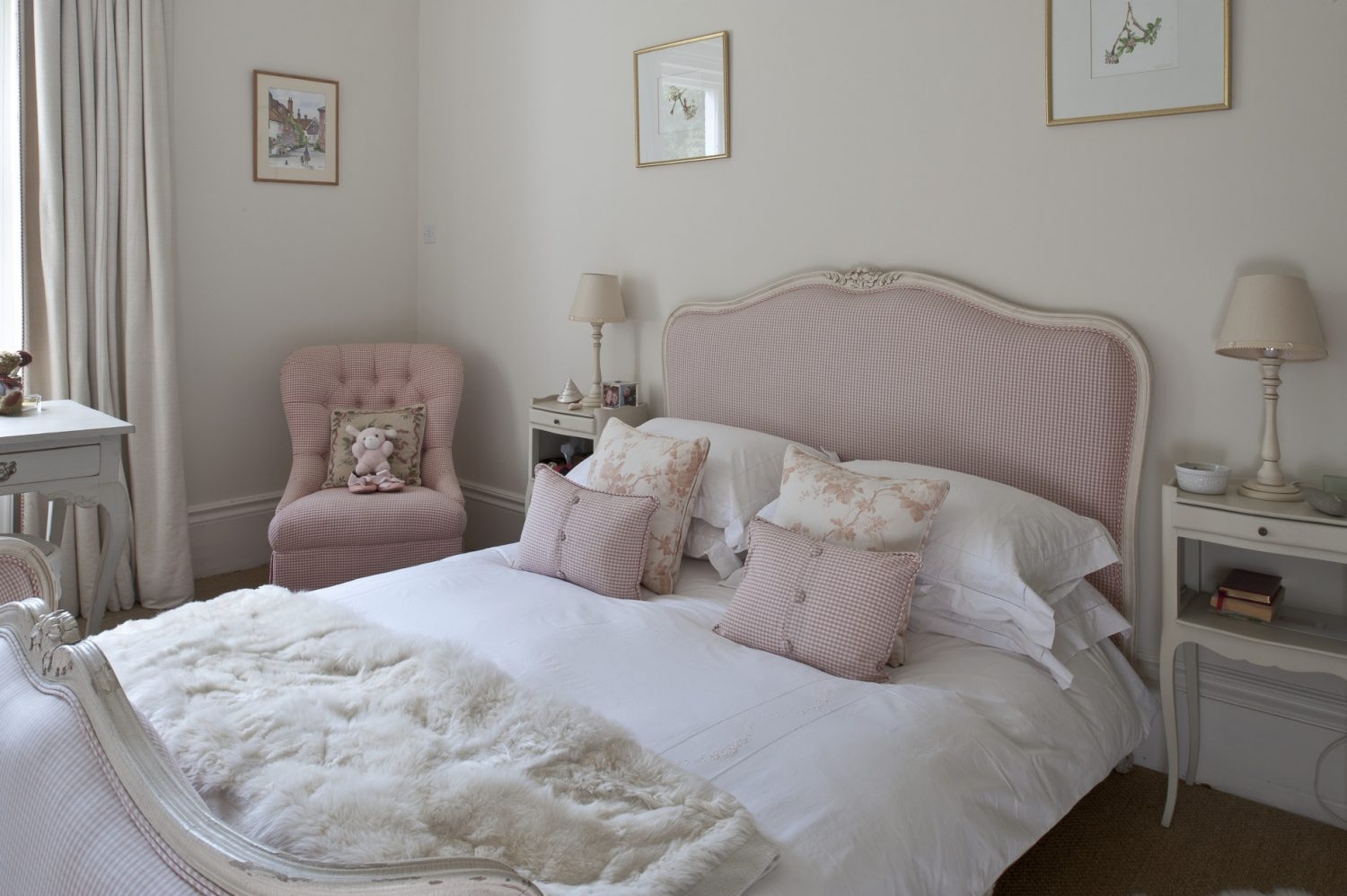 This French bed is from 'Tasha Interiors in Lamberhurst