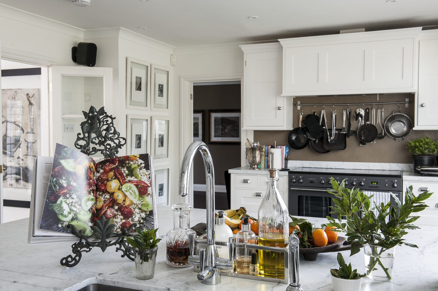 The only room that needed a major rethink when the couple moved in was the kitchen