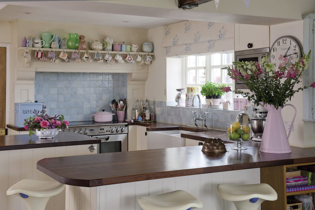 The kitchen is the hub of Lucinda's cake-making business, Cocolicious