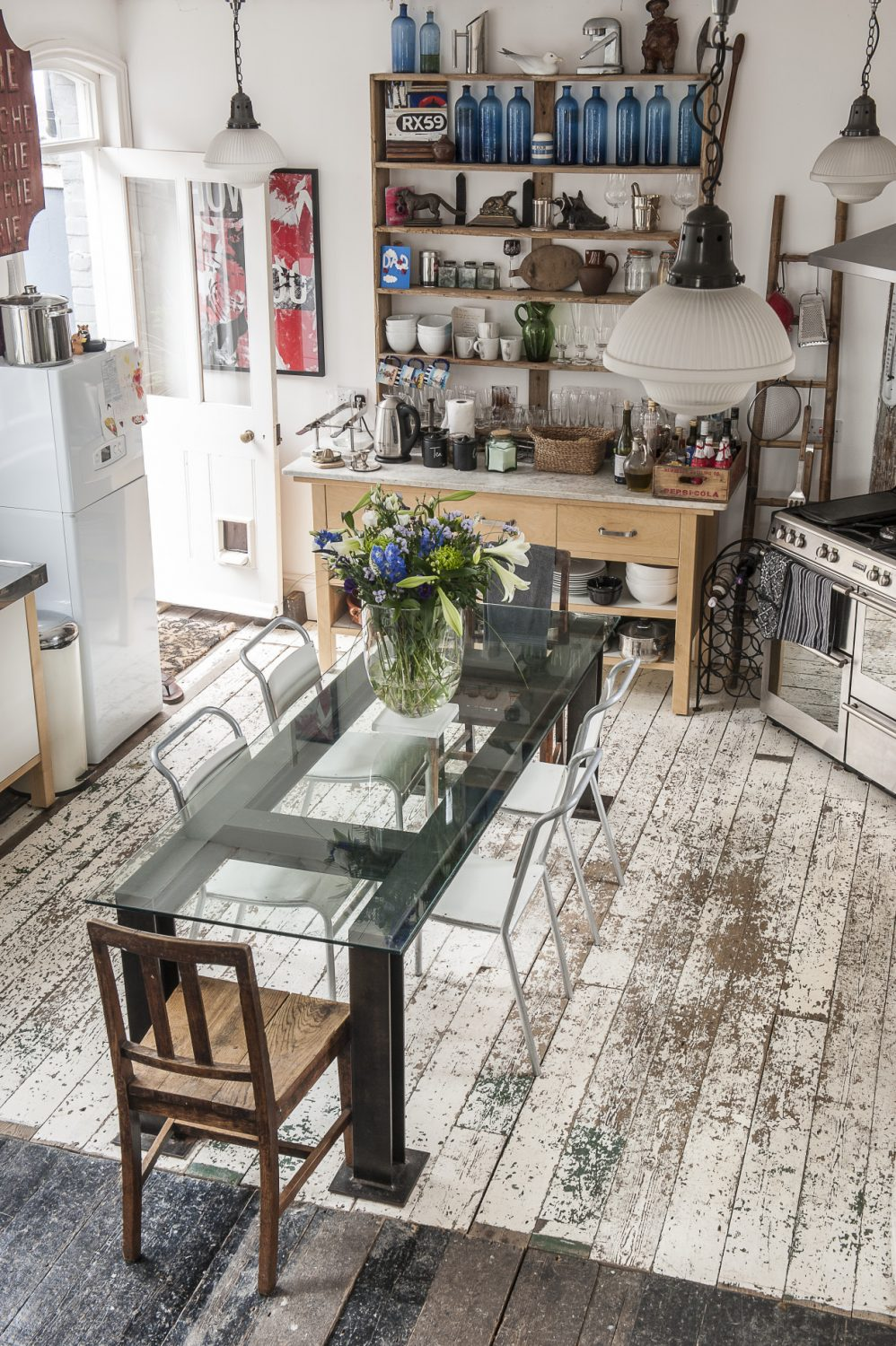 It has taken vision and a huge amount of hard graft to scrape away the years of cover-ups and 'improvements' that had been layered onto the walls and floors of the house