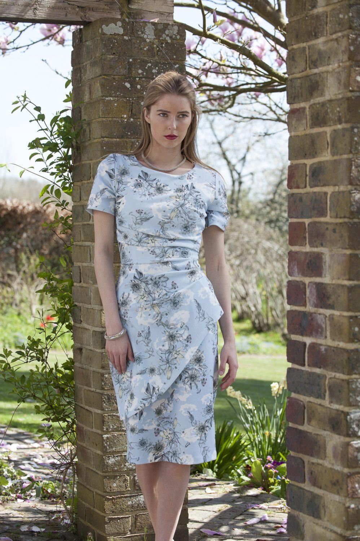 Diva dress, £135, Odyl, Cranbrook 01580 714907 www.odyl.co.uk; Etnika necklace, £42, bracelet, £22, Darcey, Heathfield & Lewes 0800 111 4974 www.darcey.co.uk