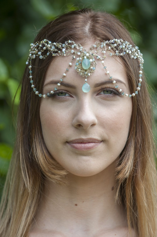 Siren headdress, £450, Helen Morris-Clarke 07725 462071 / helenmorrisclarkedesigns.co.uk