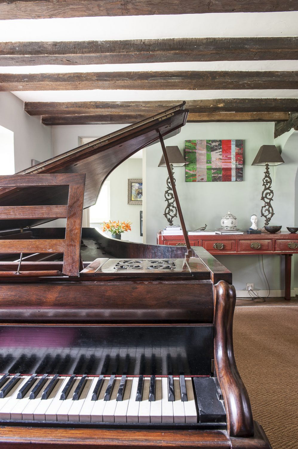 Stella's John Broadwood grand piano