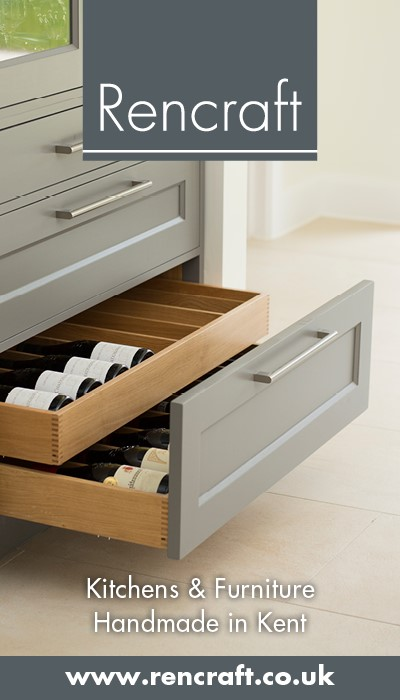 Kitchens and furniture handmade in Kent