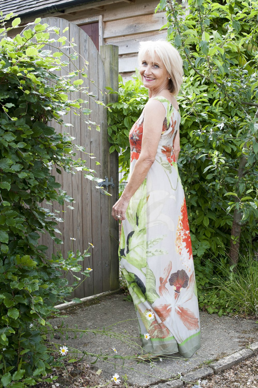 Luisa Cerano dress, £335, Eves, West Malling evesofwestmalling.com; jewellery, model's own